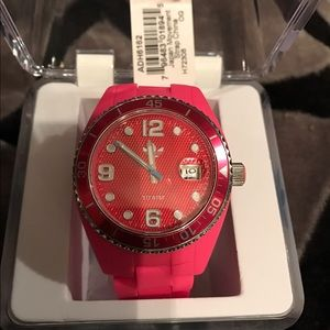 🆕 Adidas Pink watch waterproof watch